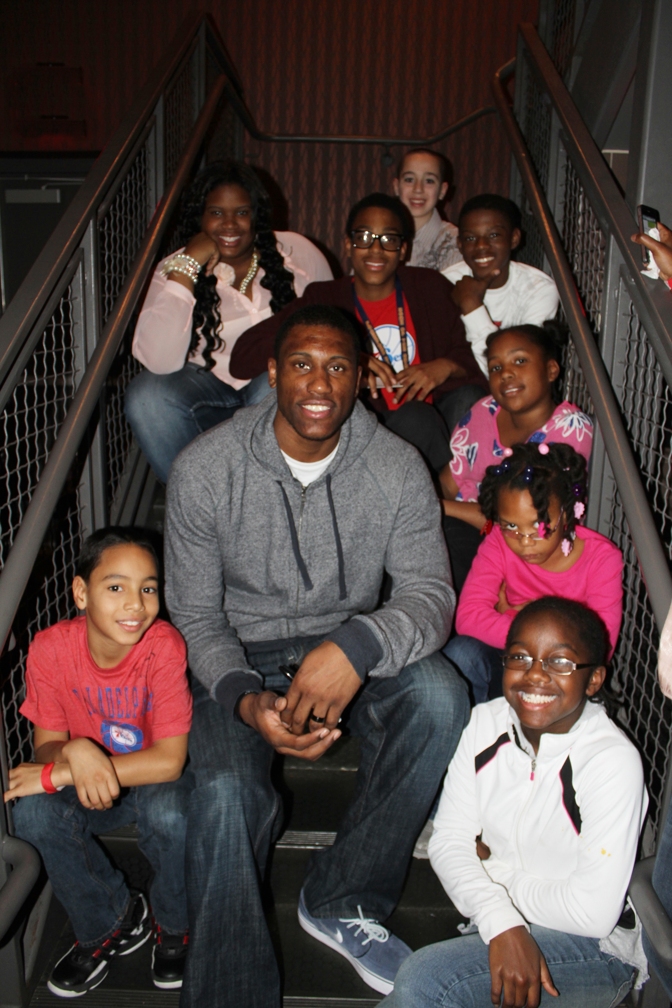 Thad and the kids